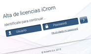 Licencia iCrom